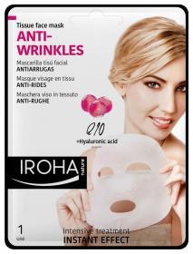 Iroha Gesichtsmaske Q 10, Collagen & Soy