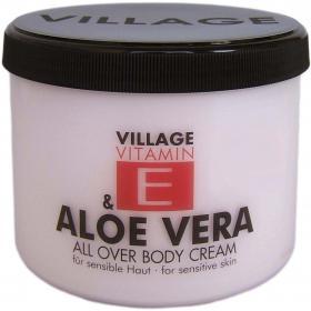 Village Vitamin E Bodycream Aloe Vera