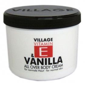 Village Vitamin E Bodycream Vanilla