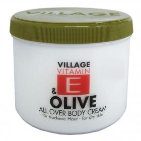 Village Vitamin E Bodycream Olive