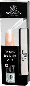 AL French Liner Set White