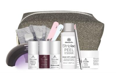 Striplac Peel or Soak Deluxe Set