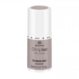 Striplac Peel or Soak 116 Mouse Grey