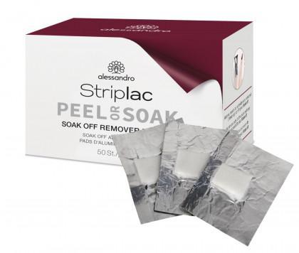 StripLac Soak off Remover Wraps