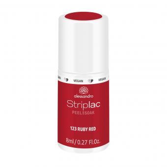 Striplac Peel or Soak 123 Ruby Red