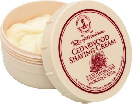 Taylor Cedarwood Shaving Cream 150g