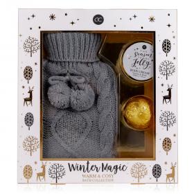 WINTER MAGIC Wellness-Set Wärmflasche